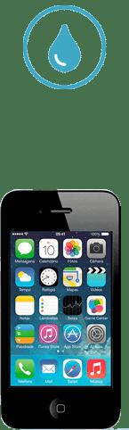 iphone 4s tombe dans l'eau