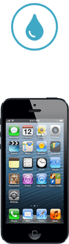 iphone 5 tombe dans l'eau