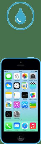 iphone 5c tombe dans l'eau