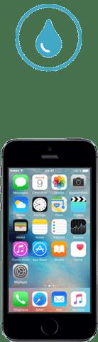 iphone 5s tombe dans l'eau