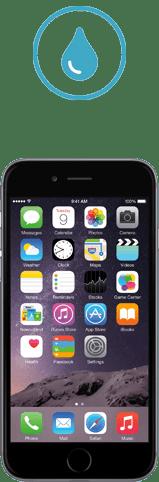 iphone 6s plus tombe dans l'eau