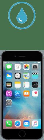 iphone 6s tombe dans l'eau