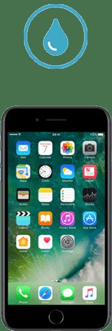 iphone 7 plus tombe dans l'eau