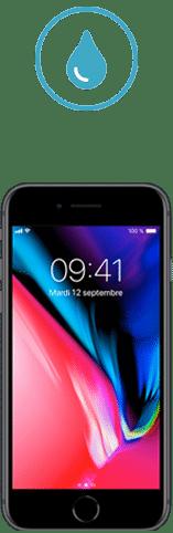 iphone 8 tombe dans l'eau