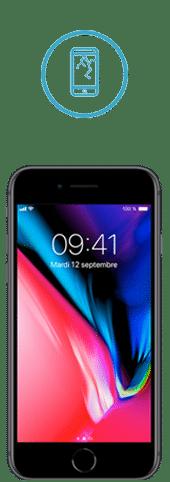 reparation ecran iphone 8